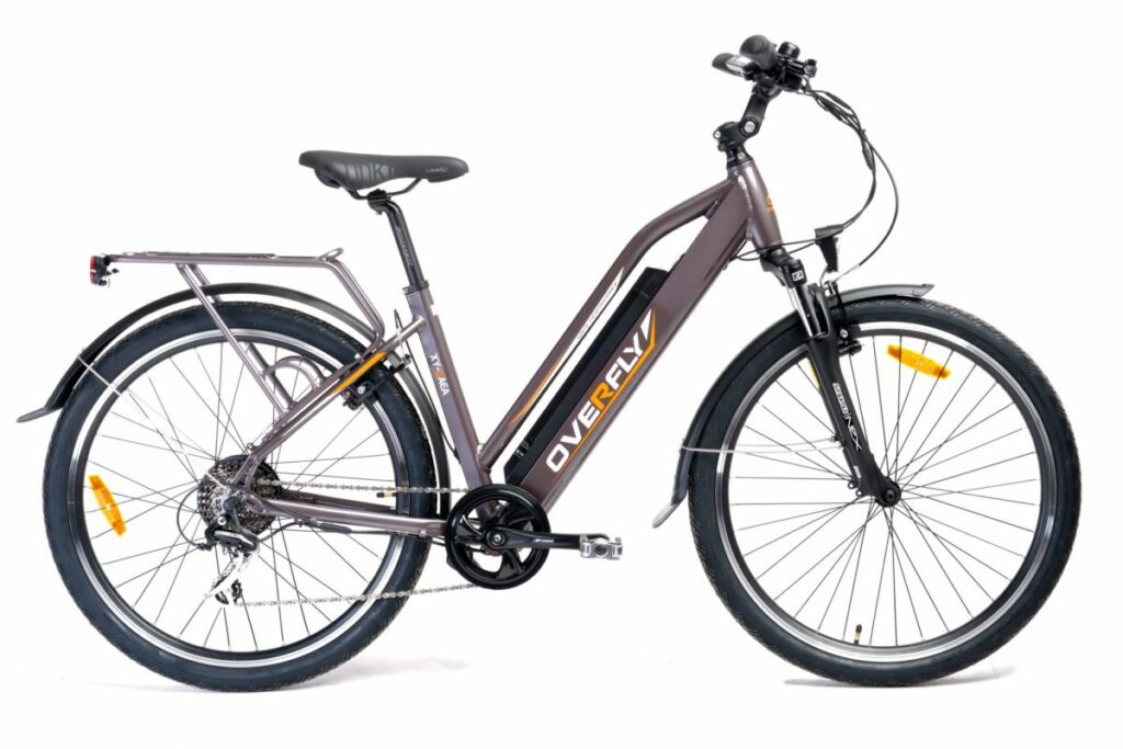 Klasyczny rower elektryczny turystyczny / miejski Overfly GAEA