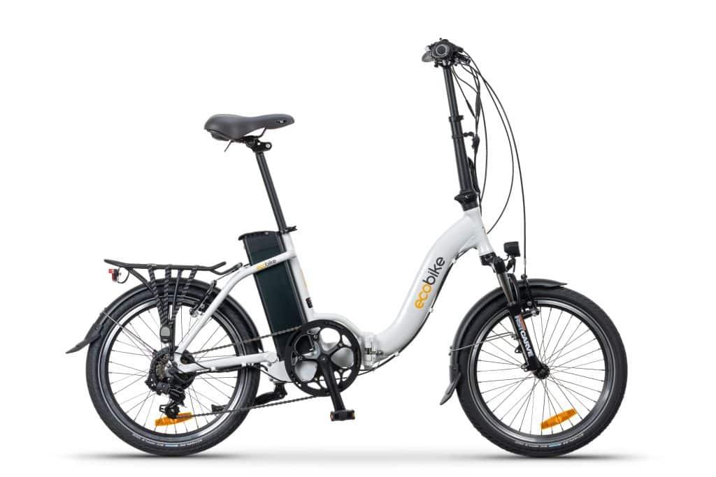 Rower elektyczny składany Ecobike Even-biały