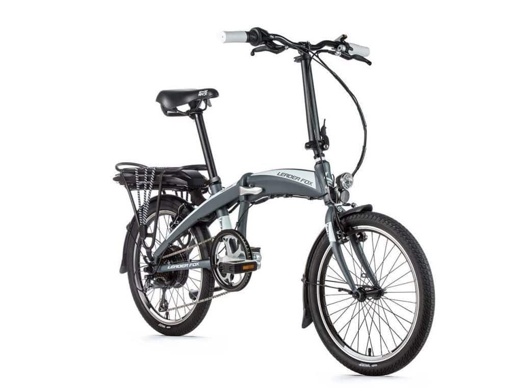 Rower Składany elektryczny Leader Fox Tifton