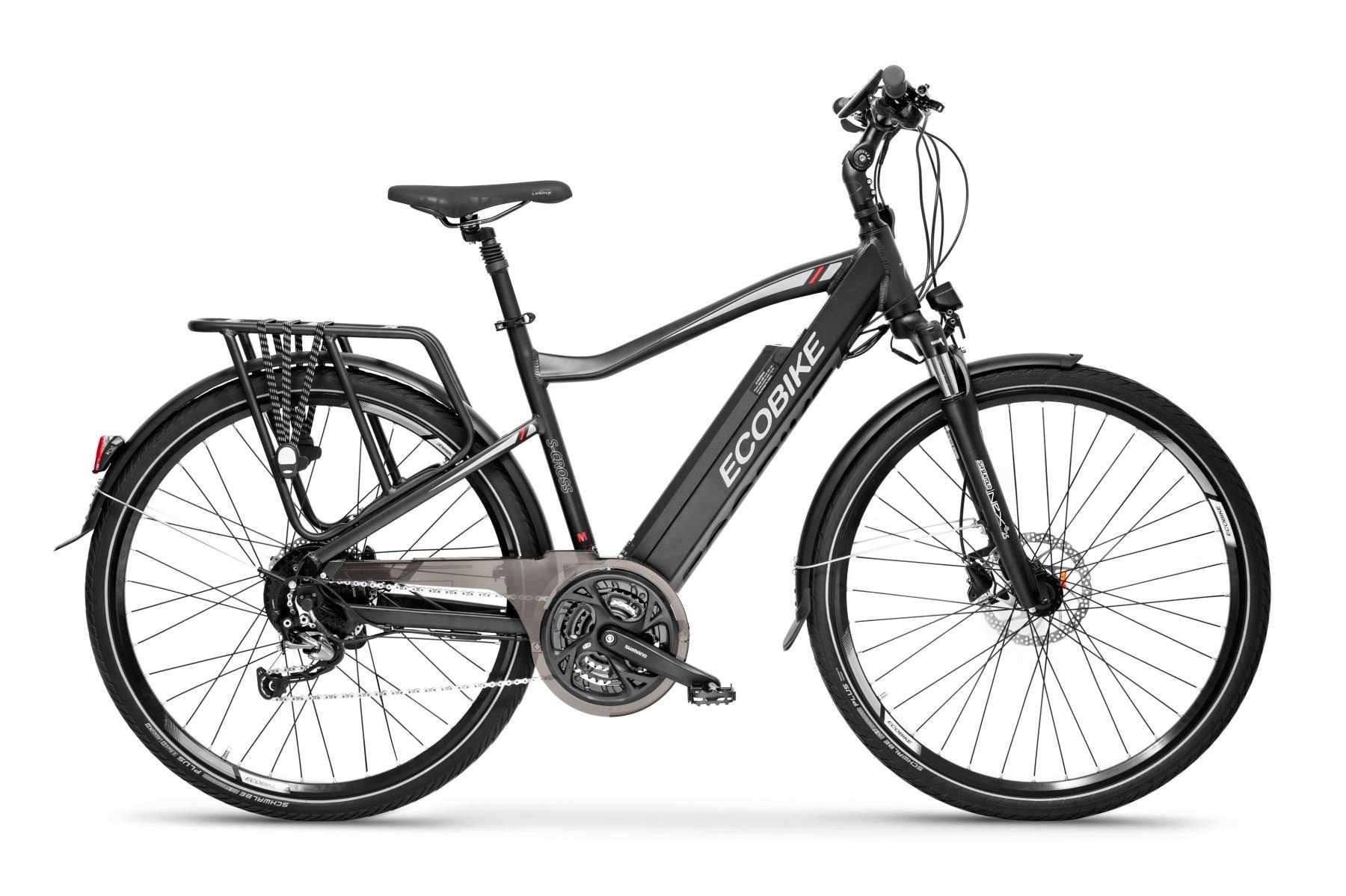 Rower trekkingowy elektryczny Ecobike S-Cross M