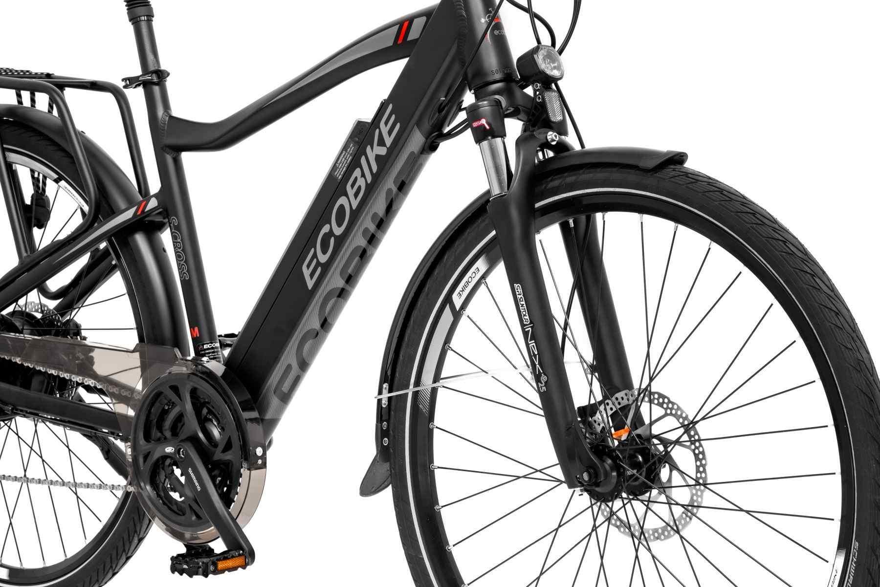Bateria roweru umieszczona w ramie