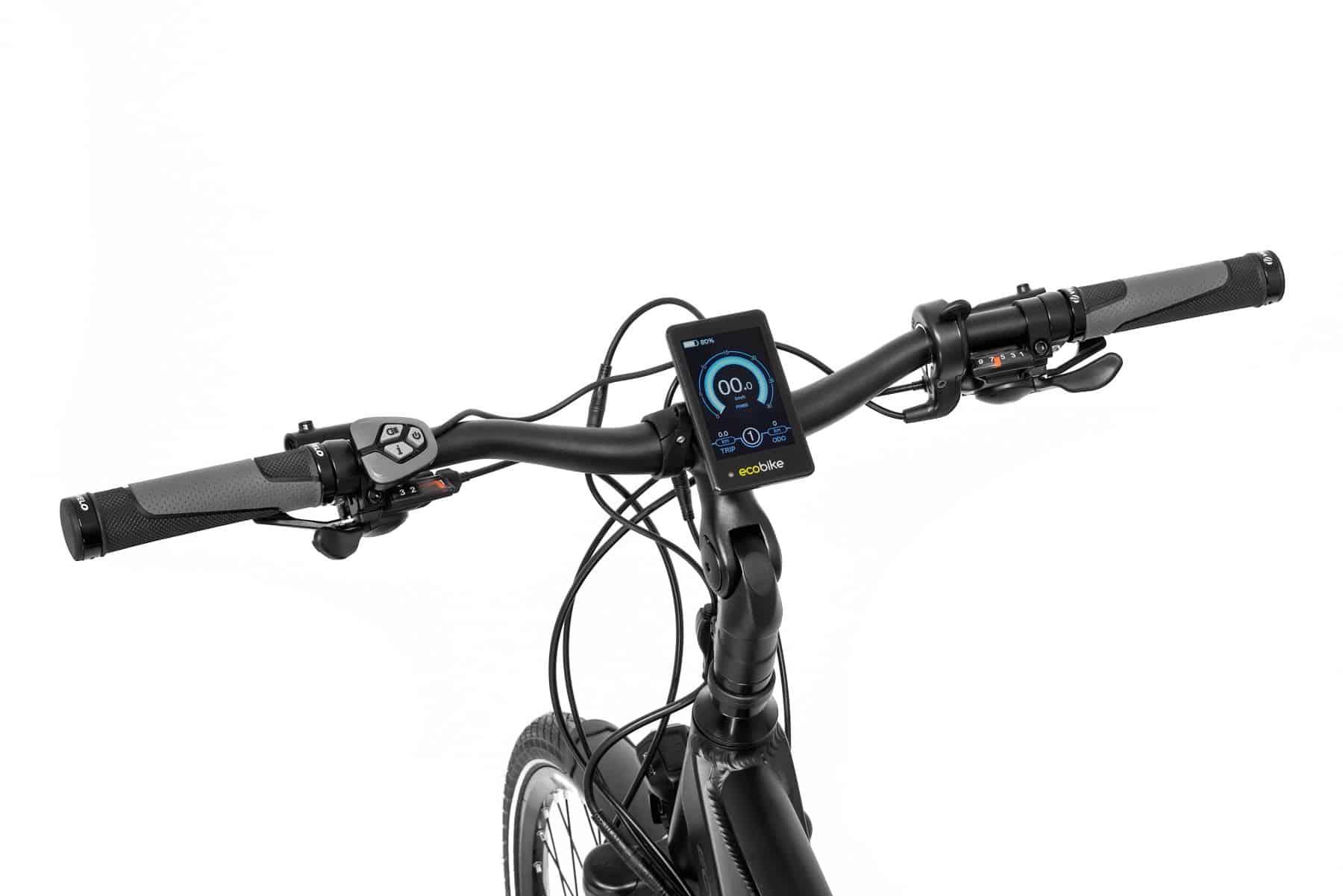 Rower elektryczny S-Cross sterowenik LCD