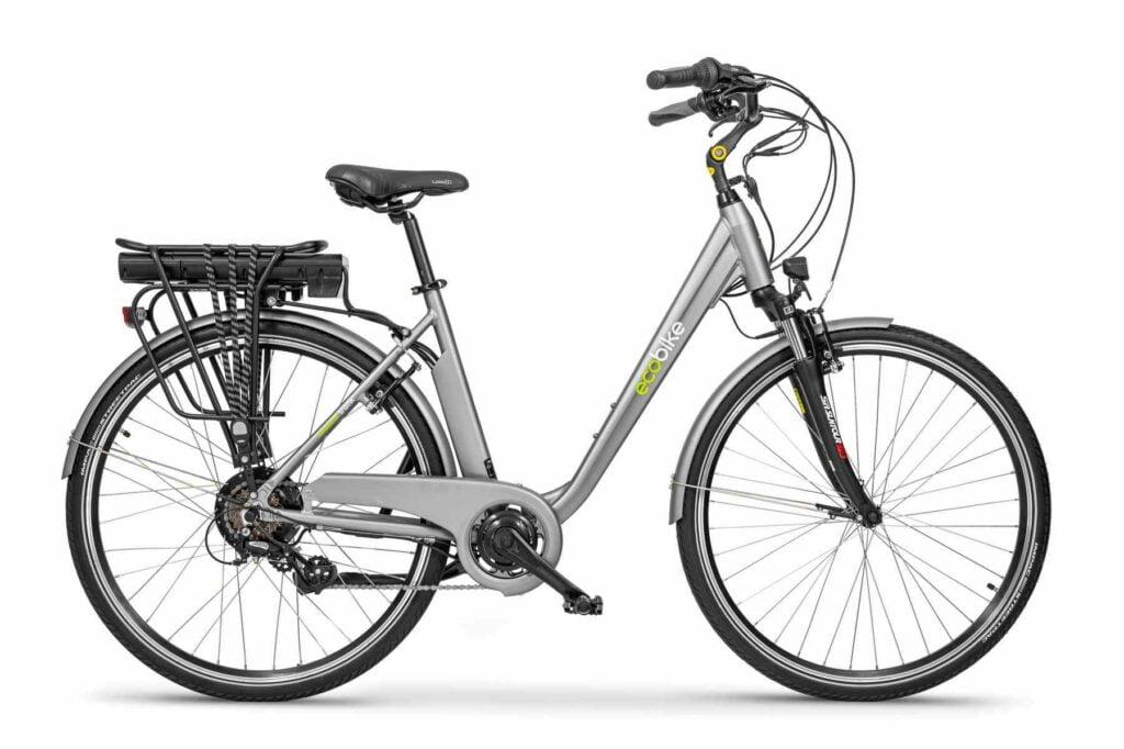 Miejski rower elektryczny EcoBike Trafic Grey
