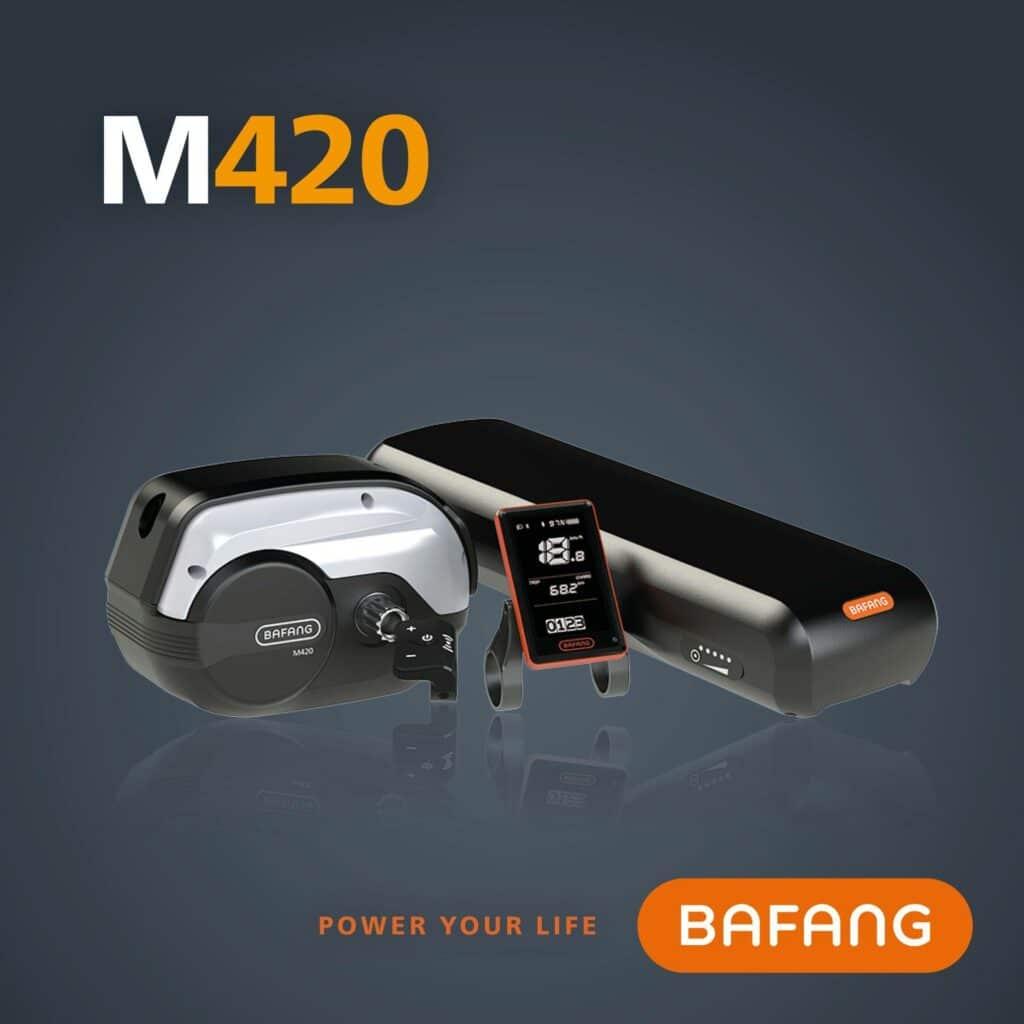 Silnik centralny do roweru elektrycznego BAFANG M200