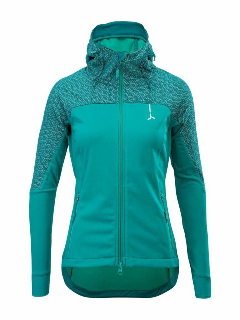 Damska kurtka sportowa na biegówki Silvini Lano, średnio ciepła, kolor ocean