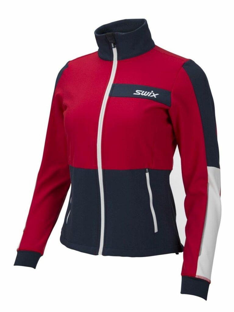 Kurtka na narty biegowe damska Swix Strive, softshell ciepła, wiatroszczelna, oddychalna. kod 15296-9990