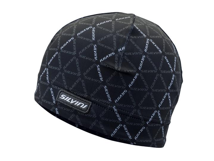 Elastyczna czapka na narty biegowe Silvini Averau czarna UA1128-0801