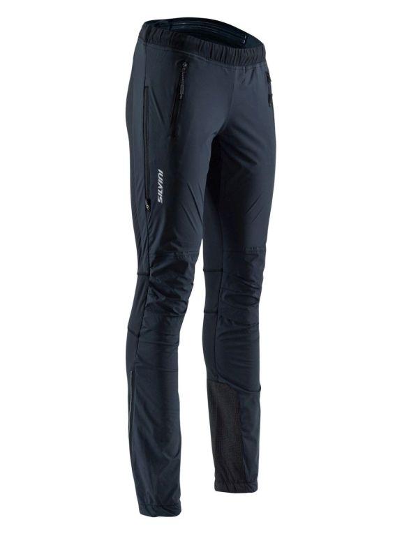 Spodnie na biegówki damskie Silvini Soracte WP1145 bardzo ciemno szare