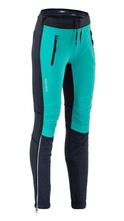 Damskie spodnie na biegówki Silvini Soracte Pro - całkowicie rozsuwane nogawki WP1744. kolor morski