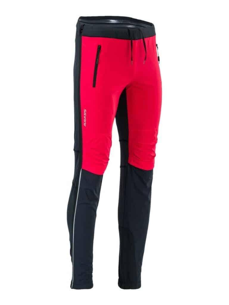 Spodnia na narty biegowe Silvini Soracte Pro męskie kolor czerwony MP1748
