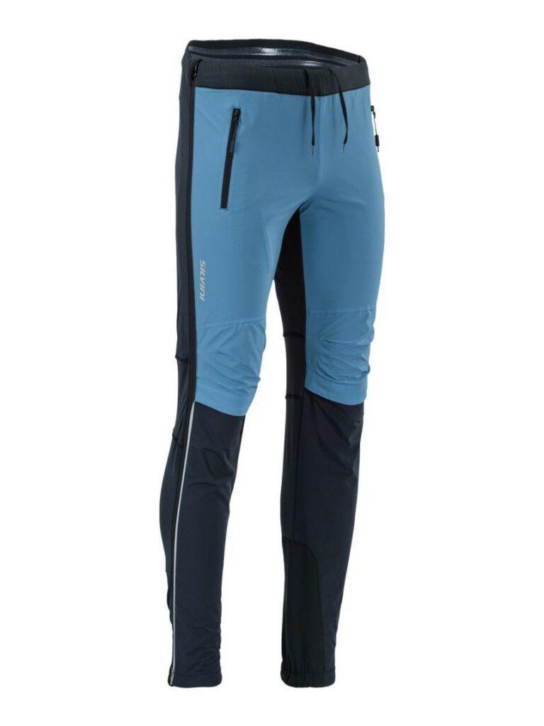 Spodnie na biegówki męskie Silvini Soracte Pro MP1748 kolor niebieski