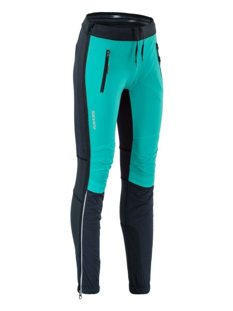 Spodnie na narty biegowe Silvini Soracte WP1744 damskie kolor ocean
