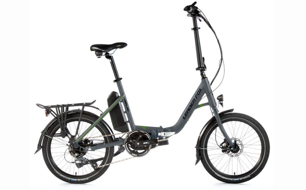 Rower elektryczny składany LeadrFox Harlan