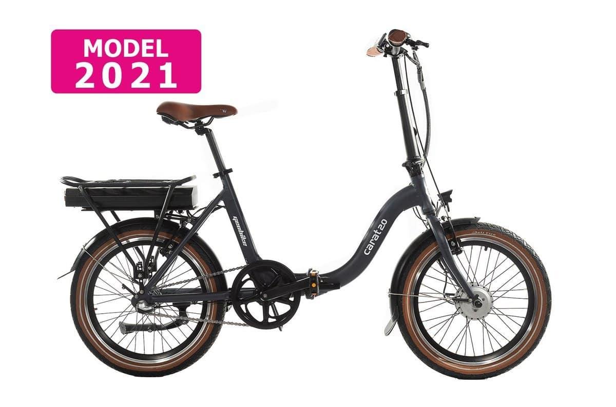 Rower elektryczny składany Geobike Carat 13 Ah
