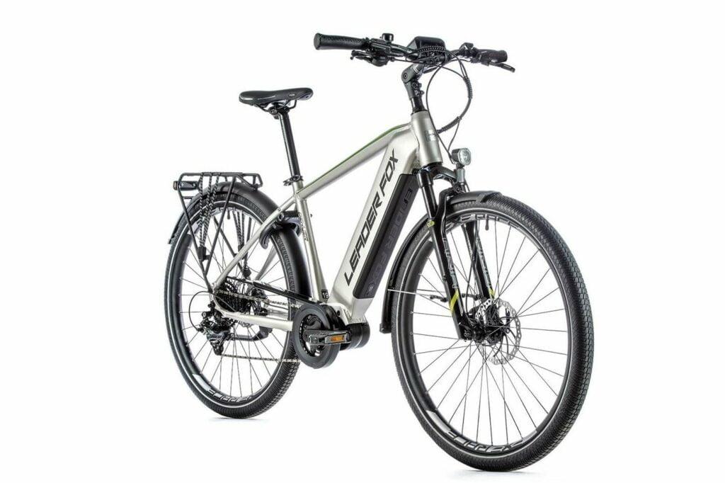 """Trekkingowy rower elektryczny Leader Fox DENVER 2021 koła 28 """", rama 19"""","""