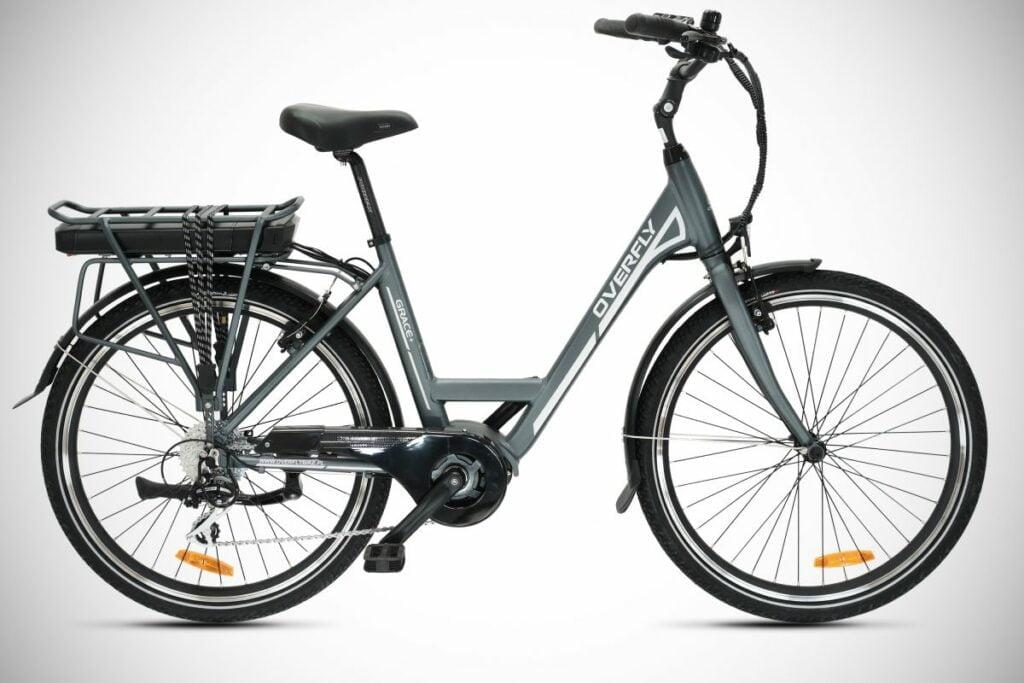 Miejski rower elektryczny damski Overfly Grace Plus