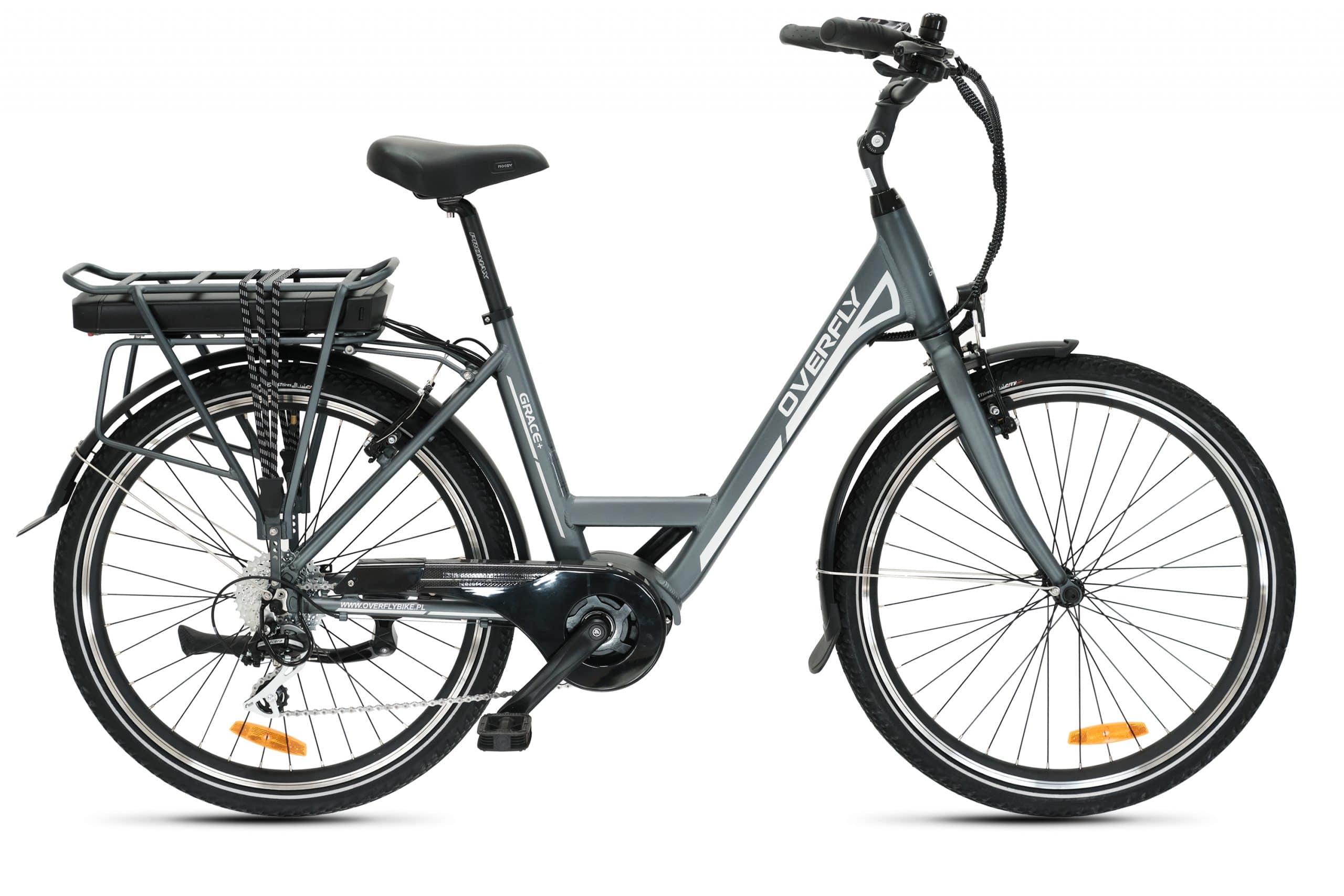 Miejski damski rower elektryczny Overfly Grace Plus