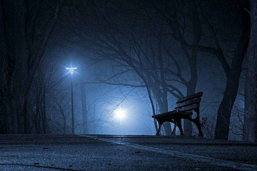 park, bench, night-3116883.jpg