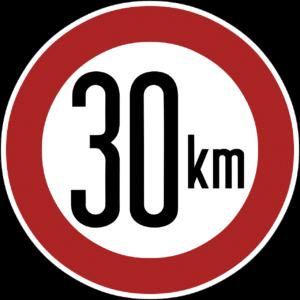 speed limit, sign, 30 km-909986.jpg