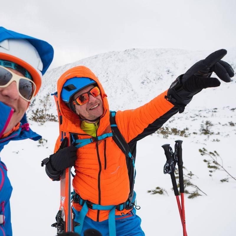 Męska kurtka na skitury Northfinder Budin