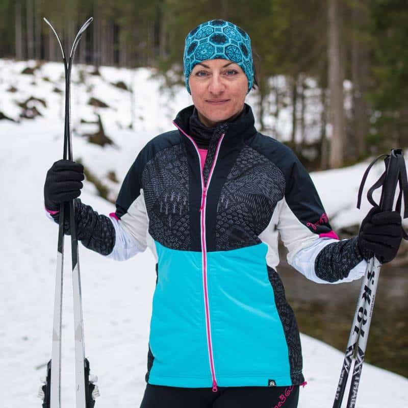 Damska kurtka na skitury Northfinder Orlova