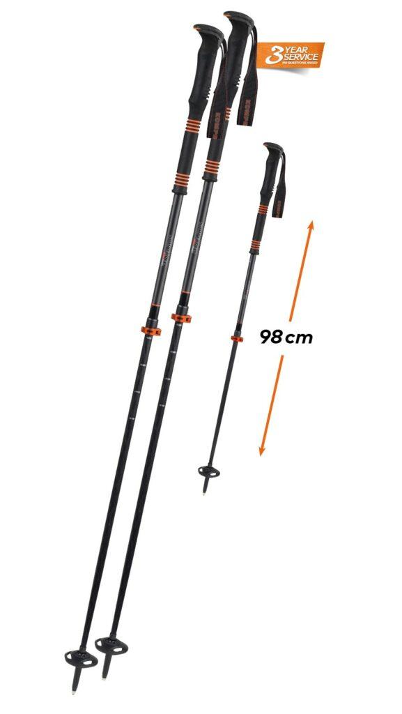 Kije skiturowe Komperdell Carbon C2 Ultralight Orange