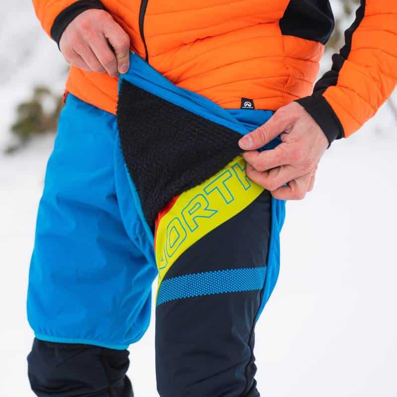 Ocieplane szorty na skitury Northfinder Kosiare