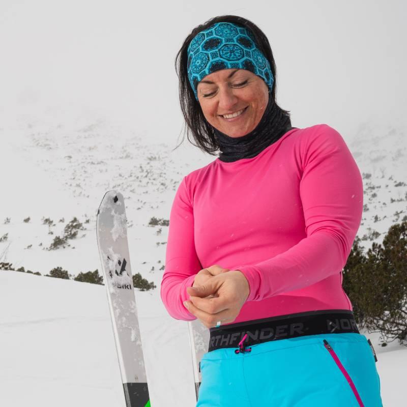 Damska bluzka elastyczna na skitury