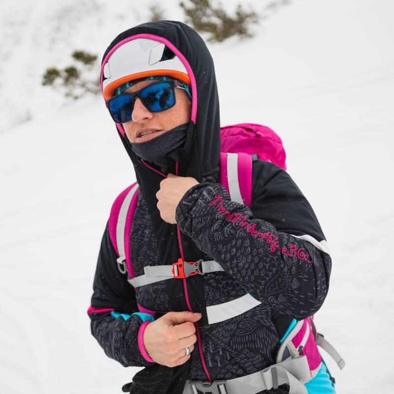 Damska kurtka na skitury Northfinder Rohace