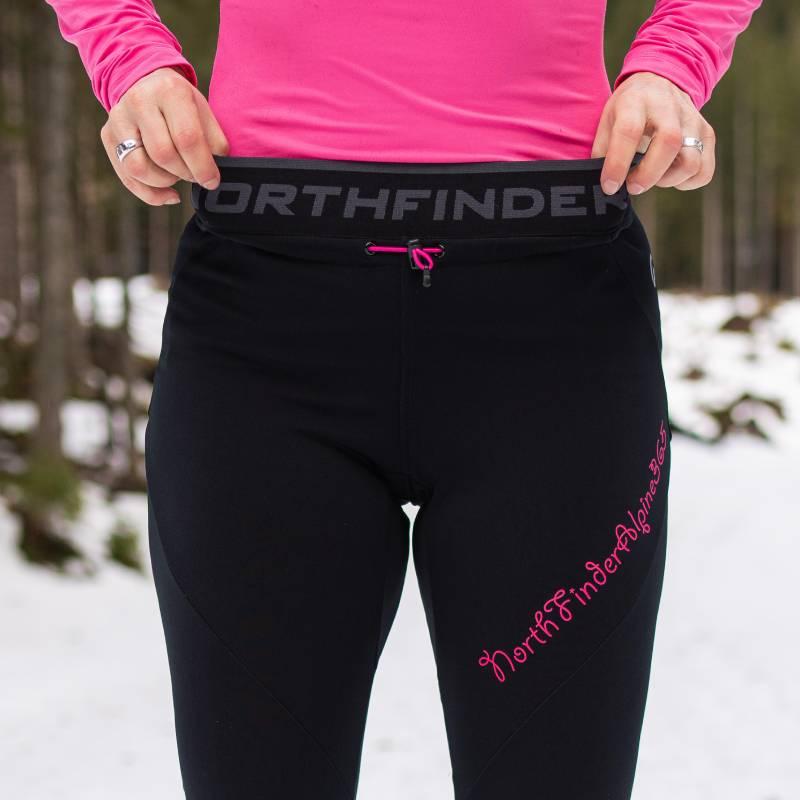 Damskie spodnie elastyczne na narty biegowe Northfinder