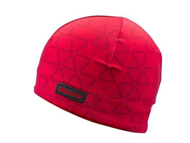Elastyczna czapka na biegówki Silvini Averau Red Merlot