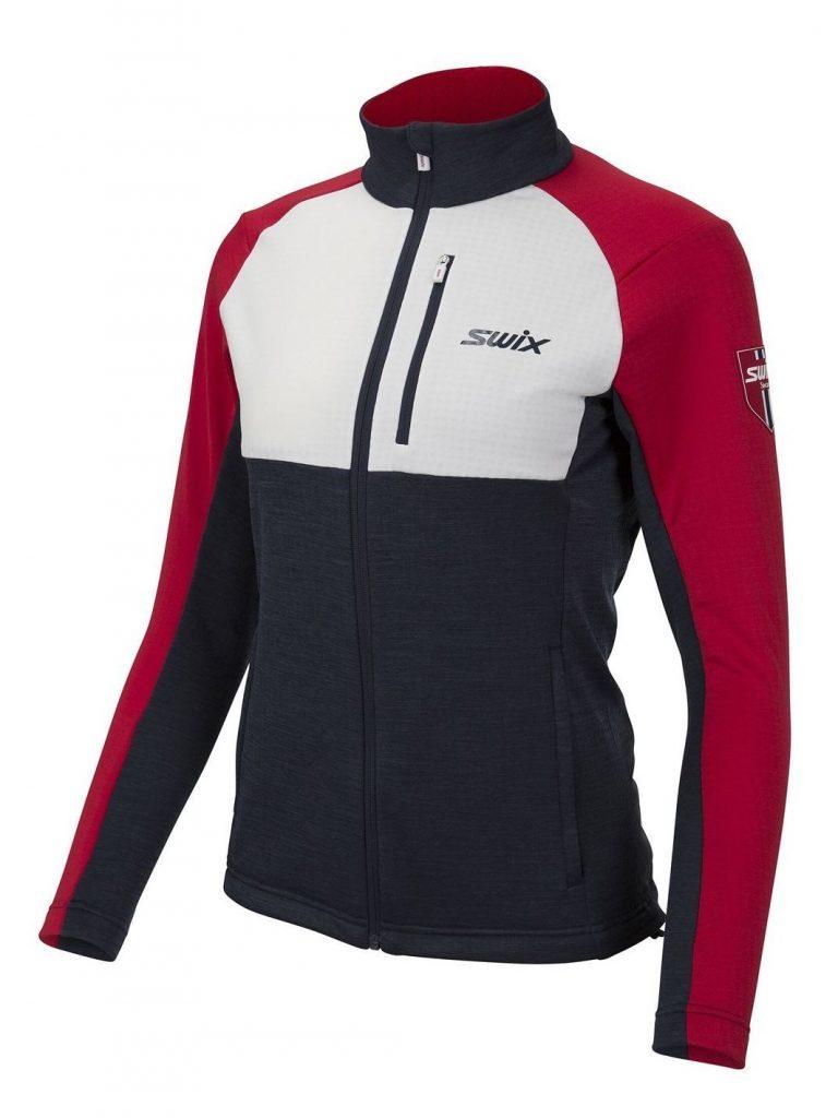 Bluza damska warstwa środkowa odziezy biegowej Swix Infinity 16096-90900