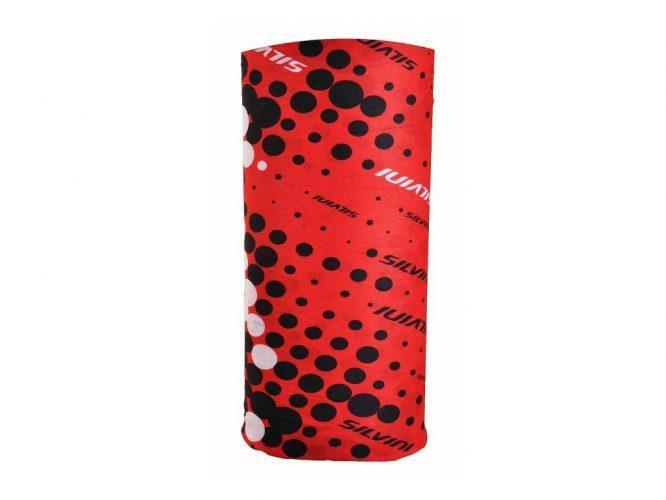 Komin Silvini Motivo UA508-08200, czerwono-czarny