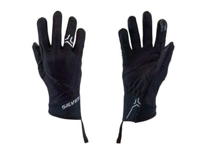 Cienkie rękawiczki do aktywnego biegu Silvini Olona