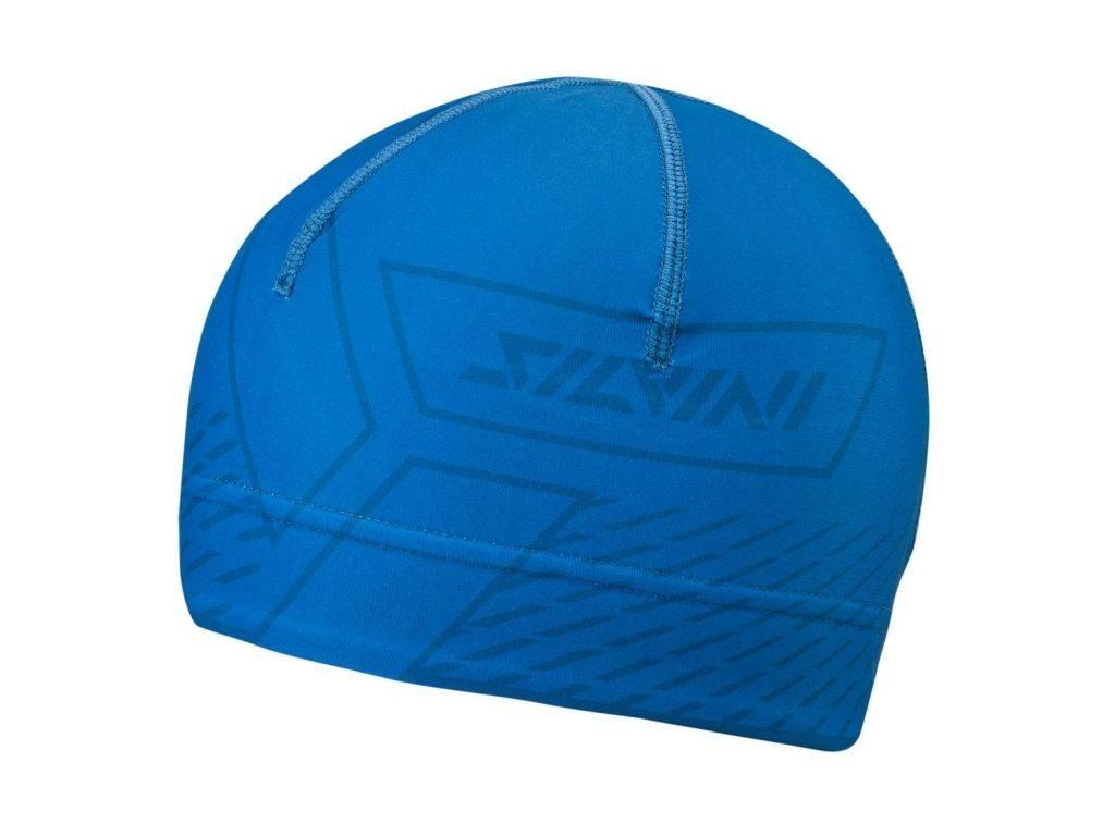 Sportowa elastyczna czapka do aktywnego ruchu Silvini Pala UA1521-3032 kol. blue-navy