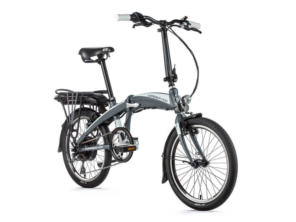 Rower elektryczny składany Leader Fox Tifton