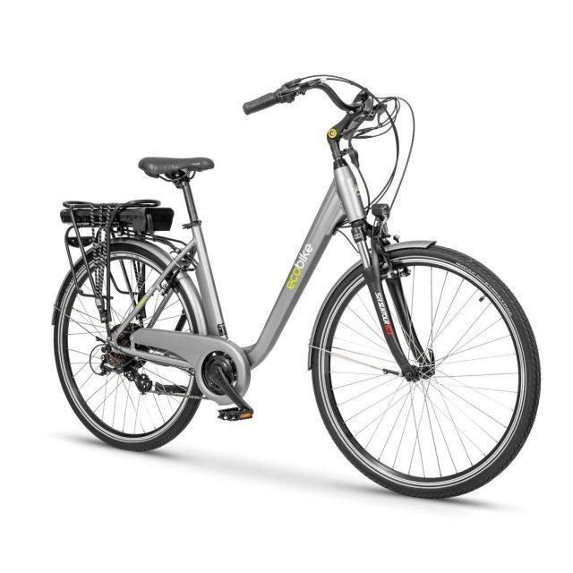 Rower elektrczny Ecobike Trafic szary