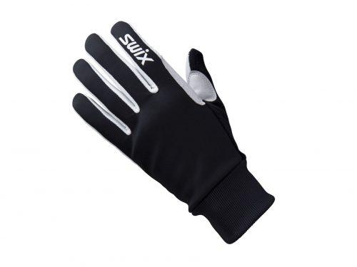 Rękawice na narty biegowe Swix Tracs H0280-10000, unisex, kolor czarne