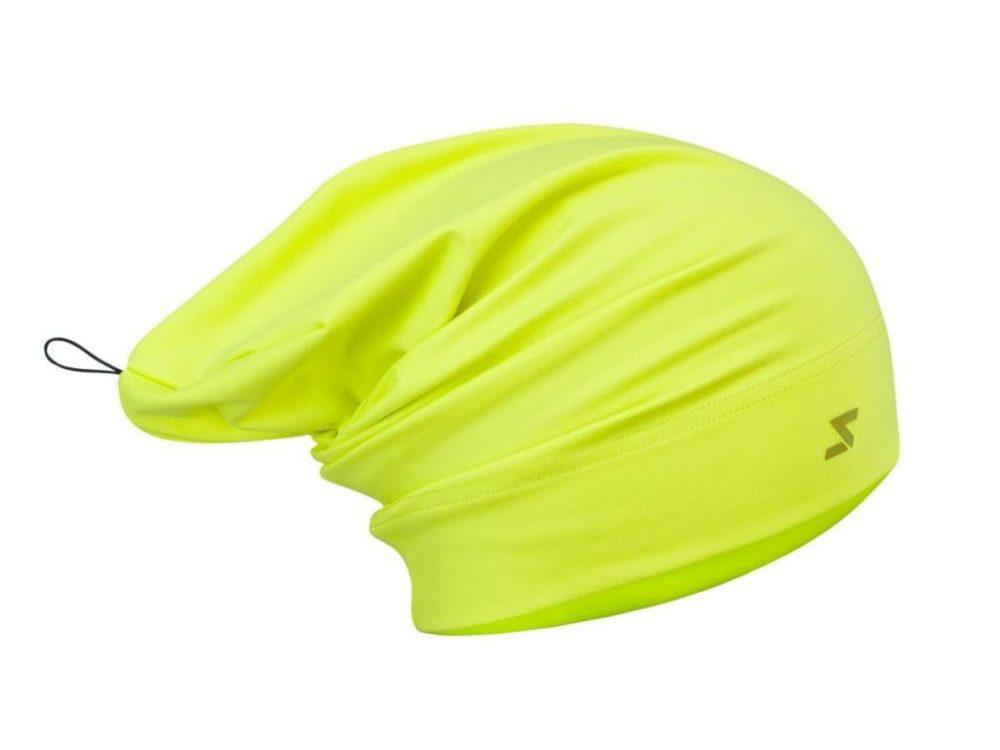 Czapka na narty biegowe i inne okazje – Silvini Verde oddychająca, kolor lime