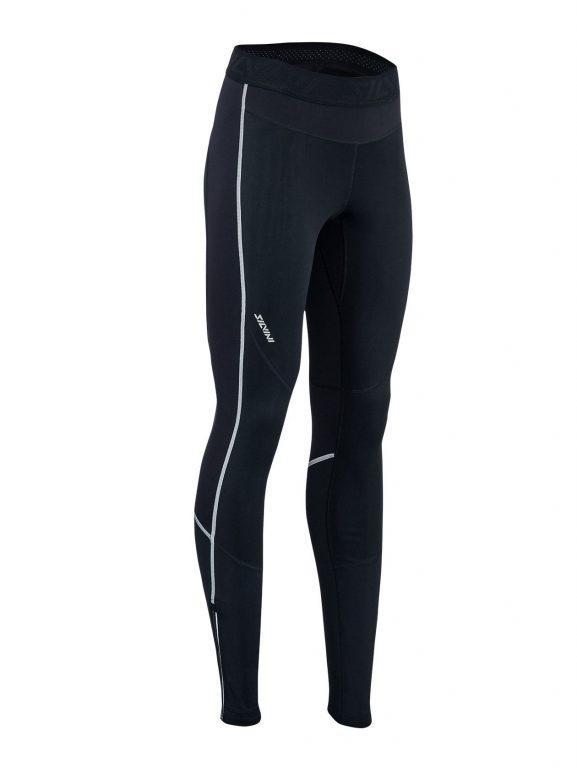 Elastyczne damskie spodnie na narty biegowe i do biegania Silvini Movenza WP1742-0811f