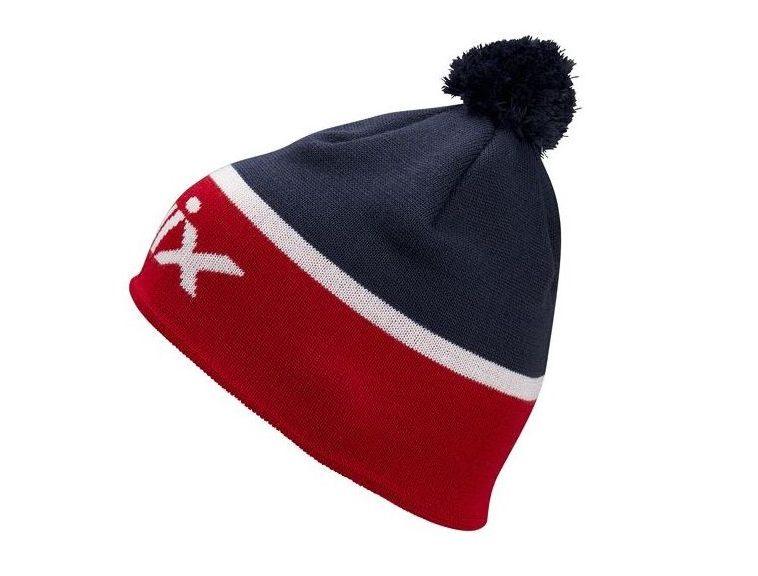 Klasyczna czapka na narty biegowe Swix Surmont, wzór norweski, z wełny merynosów,kod 46644-90900